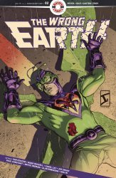 Ahoy Comics's The Wrong Earth Issue # 2-2nd print