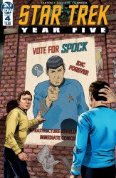 IDW Publishing's Star Trek: Year Five Issue # 4