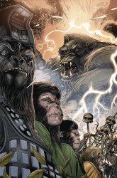 BOOM! Studios's Kong: On the Planet of the Apes Issue # 4b
