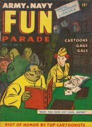 Harvey Publications's Army and Navy Fun Parade Issue V4-5