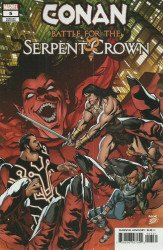 Marvel Comics's Conan: Battle for the Serpent Crown Issue # 5c