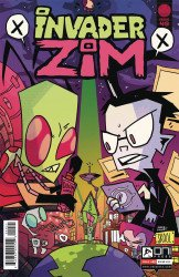 Oni Press's Invader Zim Issue # 49b