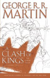 Bantam Books's George R.R. Martin: A Clash Of Kings Hard Cover # 2