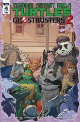 IDW Publishing's Teenage Mutant Ninja Turtles / Ghostbusters II Issue # 4