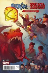 Marvel's Moon Girl and Devil Dinosaur Issue # 7b