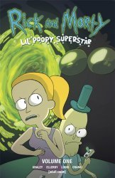 Oni Press's Rick and Morty: Lil' Poopy Superstar TPB # 1