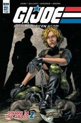 IDW Publishing's G.I. Joe: A Real American Hero Issue # 231