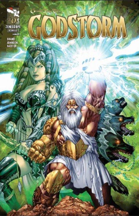 Godstorm #3 Zenescope Grimm Fairy Tales Presents B cover