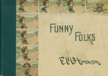 E.P. Dutton's Funny Folks Hard Cover # 1