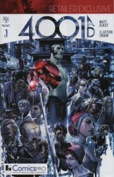 Valiant Entertainment's 4001 AD Issue # 1comicspro-b