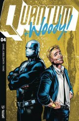 Valiant Entertainment's Quantum & Woody Issue # 4d