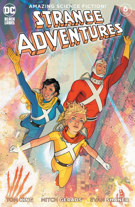 Strange Adventures # 1 of 12 Variant 2nd Printing Cover NM DC