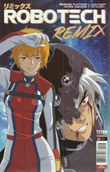 Titan Comics's Robotech Remix Issue # 2