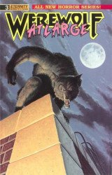 Eternity Comics's Werewolf at Large Issue # 3