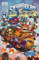 IDW Publishing's Skylanders Issue # 1sub
