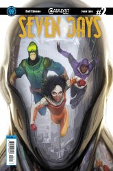 Lion Forge Comics's Catalyst Prime: Seven Days Issue # 2