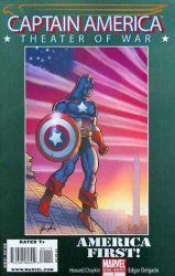 Marvel Comics's Captain America: Theater of War - America First Issue # 1