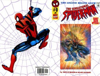 Marvel Comics's The Sensational Spider-Man Issue # 0