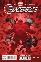 Marvel Comics's Thunderbolts Issue # 4
