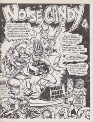 Hugh Morris Publications's Noise Candy Issue nn