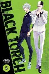Viz Media's Black Torch Soft Cover # 5