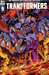 IDW Publishing's Transformers Issue # 9ri