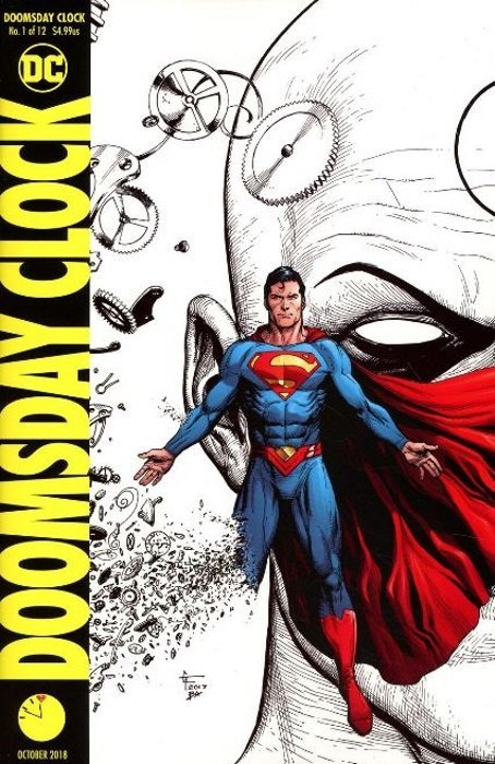 Doomsday Clock Issue 1 4th Print Dc Comics