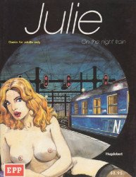 European Pictures Publishing's Julie: On the Night Train Soft Cover # 1