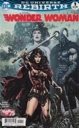 DC Comics's Wonder Woman Issue # 1c