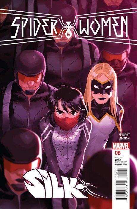 8648 Silk #8 Volume 2 Marvel VF//NM Comics Book