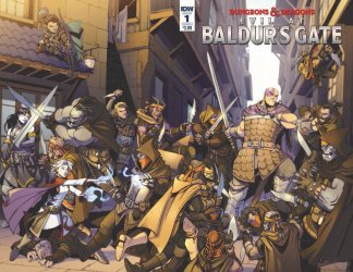 IDW Publishing's Dungeons & Dragons: Evil at Baldur's Gate Issue # 1