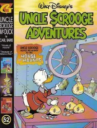 Gladstone's Uncle Scrooge Adventures in Color by Carl Barks Hard Cover # 52