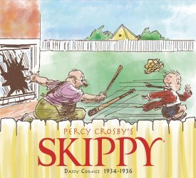 IDW Publishing's Skippy Daily Comics Hard Cover # 4