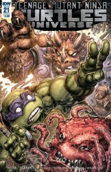 IDW Publishing's Teenage Mutant Ninja Turtles Universe Issue # 21