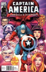 Marvel Comics's Captain America: America's Avenger Issue # 1b