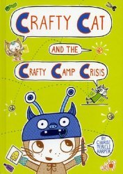 First Second Books's Crafty Cat and the Crafty Camp Crisis Hard Cover # 1