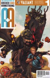 Valiant Entertainment's A&A Issue # 1heroes