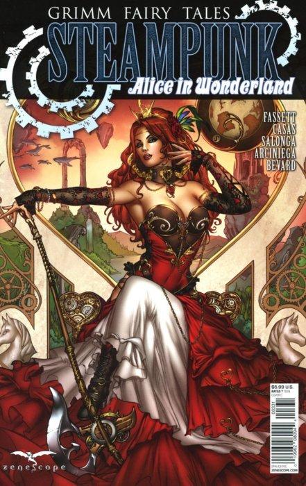 Grimm Fairy Tales Presents ~ Zenescope Vampires The Eternal #1 1C cover