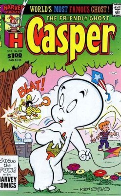 Casper, the Friendly Ghost Issue # 257 (Harvey Publications)