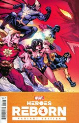 Marvel Comics's Heroes Reborn Issue # 1j