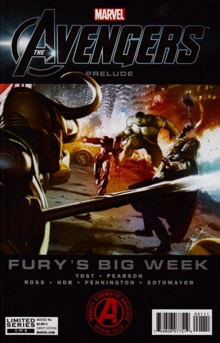 Avengers Prelude: Fury's Big Week Issue # 1 (Marvel Comics)