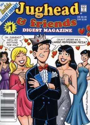 Archie Comics Groups Jughead Friends Digest Magazine Issue 1