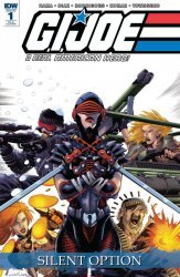 IDW Publishing's G.I. Joe: A Real American Hero - Silent Option Issue # 1ri