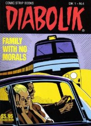Scorpion Productions Inc.'s Diabolik Soft Cover # 4