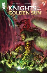 Mad Cave Studios's Knights of the Golden Sun Issue # 3