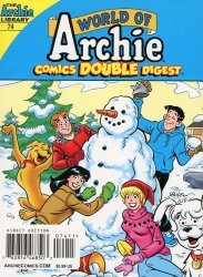 Archie Comics Group's World of Archie: Double Digest Magazine Issue # 74