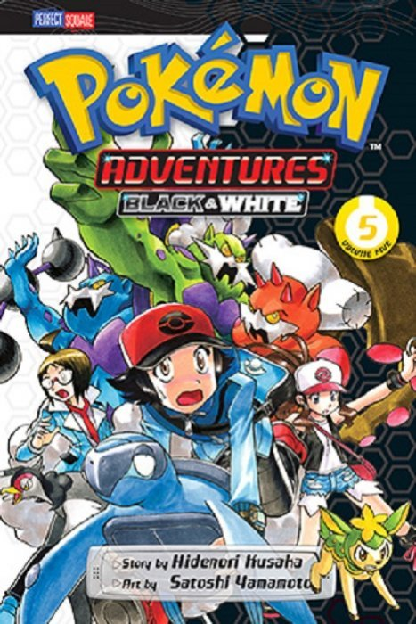 Pokemon Adventures: Black amp; White Soft Cover 6 Viz Media