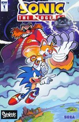 IDW Publishing's Sonic the Hedgehog Issue # 1spencers