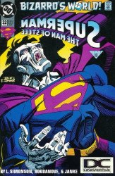 DC Comics's Superman: Man of Steel Issue # 32b