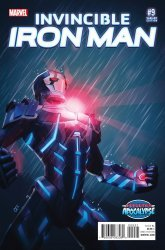 Marvel's Invincible Iron Man Issue # 9b